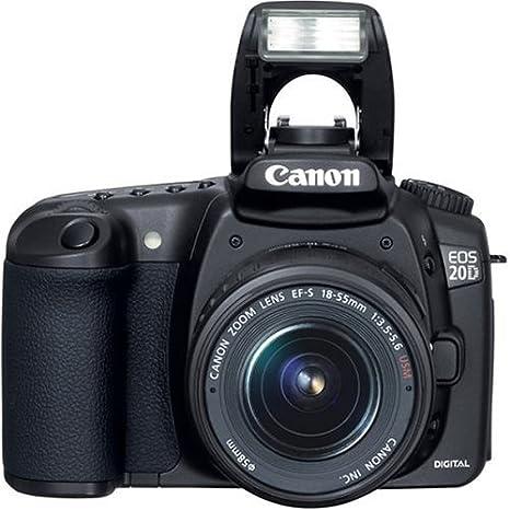 Canon EOS 20d cámara réflex Digital con Objetivo EF-S 18 - 55 mm f ...