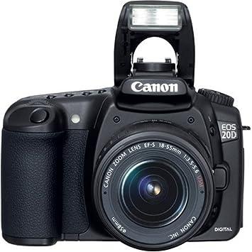 Amazon.com: Canon EOS 20d cámara réflex digital con lente EF ...