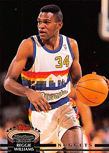 (1992-93 Stadium Club Basketball #150 Reggie Williams Official NBA Trading Card From Topps)