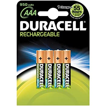 Amazon.com: DURACELL AAA RECHARGEABLE BATTERIES 1000 MAH