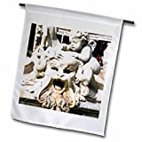 3dRose Danita Delimont - Fountains - Fountain of Neptune, Piazza Navona, Rome, Latium, Italy, Europe - 18 x 27 inch Garden Flag (fl_277629_2)