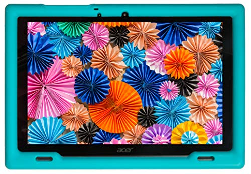 BobjGear Bobj Rugged Tablet Case for Acer Iconia B3-A50 Kid Friendly (Terrific Turquoise) (Case Acer Tab Iconia)