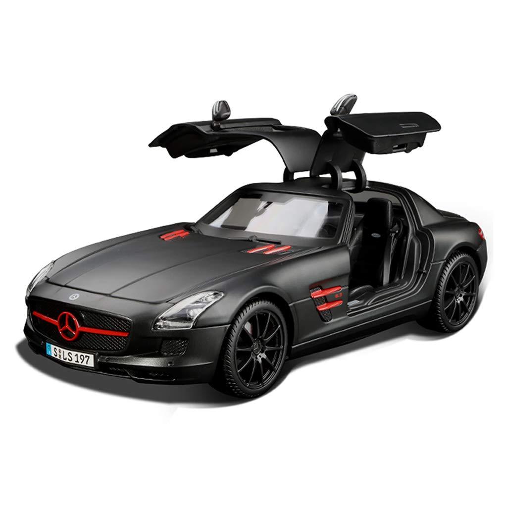 IAIZI カーモデルカー1:18メルセデスベンツSLSシミュレーション合金ダイカスト玩具装飾品スポーツカーコレクションジュエリー25.8x11.7x7.2CM B07RHL4YSM