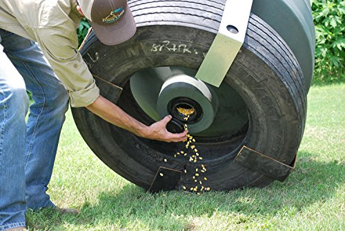 Capsule Ground Level Sit and Fill Deer Corn and Protein Feeder 800 lb. Capacity by Capsule Game Feeders by GreatMark (Image #2)