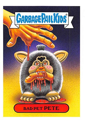 2019 Topps Garbage Pail Kids We Hate the '90s Toys Sticker #14b BAD PET PETE Sticker Trading Card