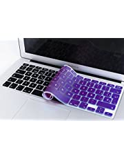 boldR Lenfech Cubre Teclado para MacBook 2012-2015 Pro 13 y 15, Air 13/ Retina 15 y Mac Book 2010-2017 Air 13. Protector de Teclado en Español de Silicón.