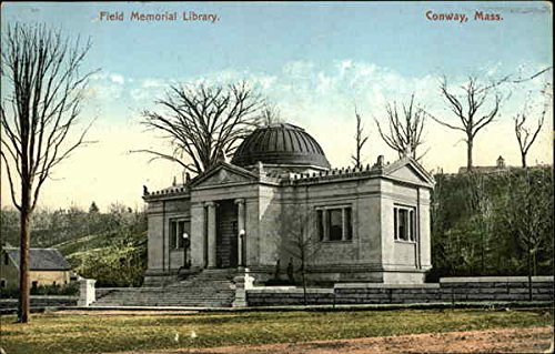 (Field Memorial Library Conway, Massachusetts Original Vintage)