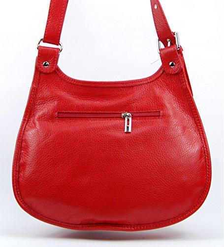 à Main PETRA CUIR femme MY BAG petit Rouge Sac OH Clair modèle q6IwtRSI