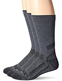 Breathable & Lightweight Work Crew Men`s Socks | Odor...