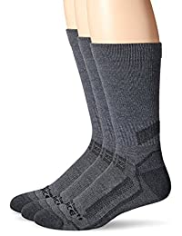 Carhartt Men's FORCE Performance Work Crew Sock 3-Pack