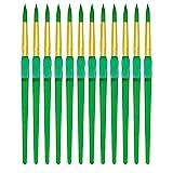 Royal Brush Big Kids Choice Pincel para pintura, redondo, tamaño 8, paquete de 12