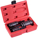 """Goplus 3 PC Muffler Tail and Exhaust Pipe Expander 1-1/8"""" to 3-1/2"""" Tool Set W/ Case"""