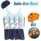 AMENON Baby Boys Girls Floatation Swimsuits Swim