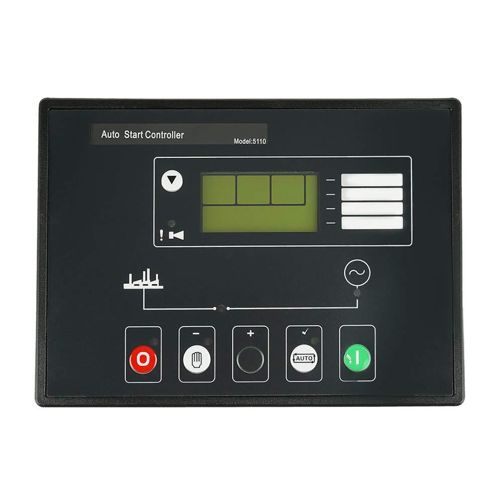 Xzan Automatic Generator Controller Auto Electronic Generator DSE5110 Module Control Faceplate
