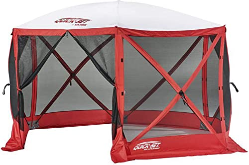 Quick Set Escape Sport 11.5 8 Person Outdoor Camping Canopy Shelter Tent