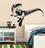 Veloceraptor Dino Dinosaur Boys Room Vinyl Wall Art Removable Home Decor Vinyl Decal Sticker 63