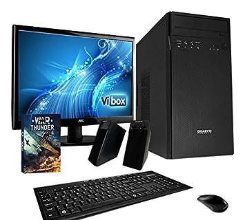 8c2de6d0815 VIBOX Vision 14 Gaming PC Ordenador de sobremesa con War Thunder Cupón de  juego