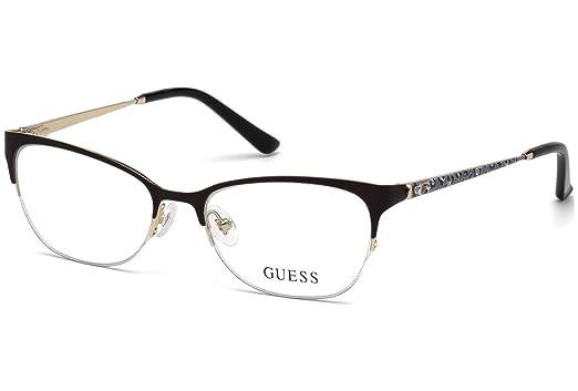 70a6a695bd Guess GU2584 Eyeglass Frames - Matte Black Frame