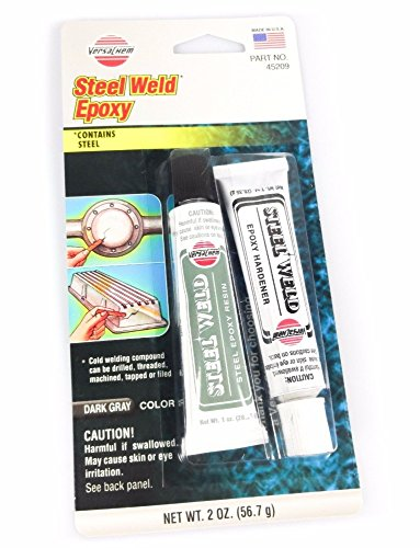 2oz Steel Weld Epoxy Cold Welding Adhesive Auto Repair Metal Bonding by Unknown
