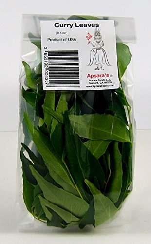 Fresh Curry Leaves - 0.5 oz (No Stems)