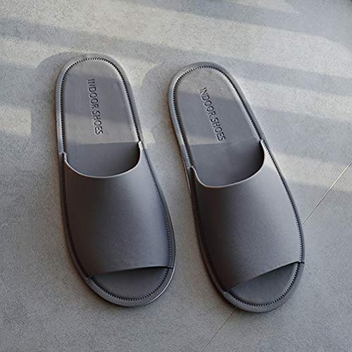 Anti Shoes Toe Grey Shower Spa Open Slippers Slip Maison Share Summer Indoor Unisex RqPpAwX