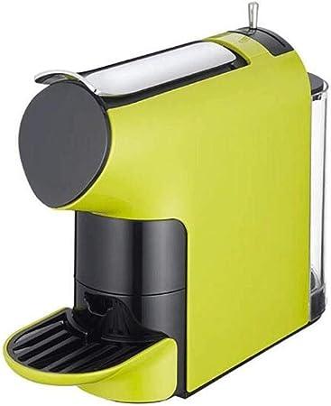 KFJDX Cafetera - Cápsula de concentración concentrada Máquina de café Espresso preestablecida Compatible con cápsulas multimarca, Verde: Amazon.es: Hogar