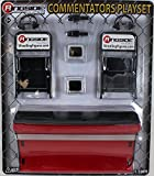 COMMENTATORS PLAYSET (RED) - RINGSIDE COLLECTIBLES EXCLUSIVE TOY WRESTLING ACTION FIGURE ACCESSORY PACK by Wrestling