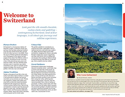 Lonely Planet Switzerland Travel Guide Import It All border=