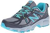New Balance Women's WT410V4 Trail Shoe, Grey/Teal