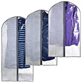 TruMod Home Perfect Garment Bags for Suits – Dress Suit Bag Set for Easy Storage or Travel Review