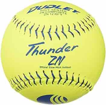 "Dozen 4U-067Y-DZ Dudley 12/"" Synthetic USSSA .52//275 Softball"