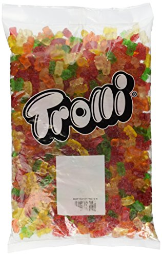 Trolli Gummy Bears Candy, 5 Pound Bulk Candy Bag