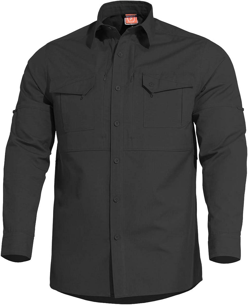PENTAGON Plato Táctica Camisa Negro: Amazon.es: Ropa y accesorios