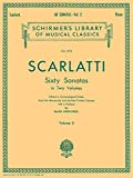 img - for Scarlatti: 60 Sonatas - Volume 2 [G. Schirmer] book / textbook / text book