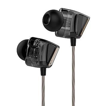 LJSHU Auriculares Universales De Doble Acción para Auriculares Bricolaje Auriculares Inalámbricos De Voz En Oído con Auriculares De Oreja De Trigo,Black: ...