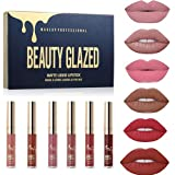 Beauty Glazed Matte Nude Liquid Lipstick Lip
