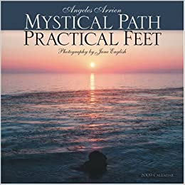 mystical path practical feet 2009 wall calendar