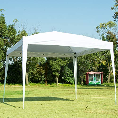 NsDirect 10 x10 ft EZ Easy Pop up Canopy Tent Commercial Instant Shelter with Carrying Case/Bag Portable ()