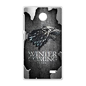 Winter coming Eagle map Cell Phone Case for Nokia Lumia X