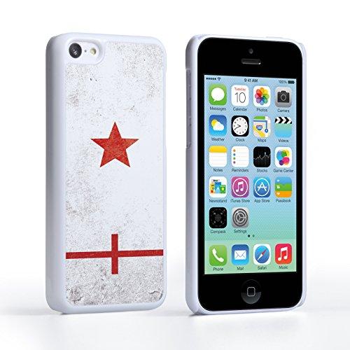 Caseflex iPhone 5C Hülle England Retro Weltmeisterschaft Hart Schutzhülle