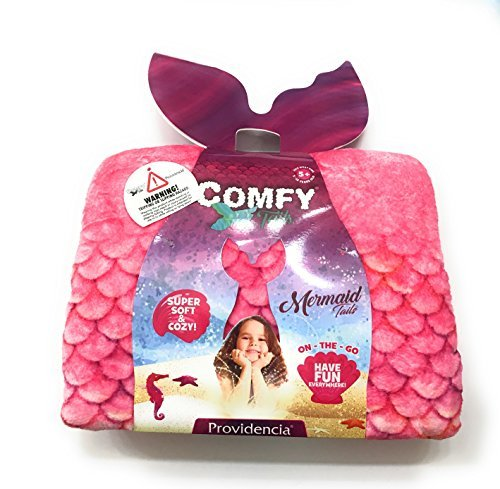 ComfyTails Mermaid Tail Blanket (Pink) by Providencia