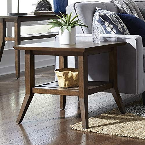 Liberty Furniture INDUSTRIES Ventura BLVD Rectangular End Table - a good cheap living room table