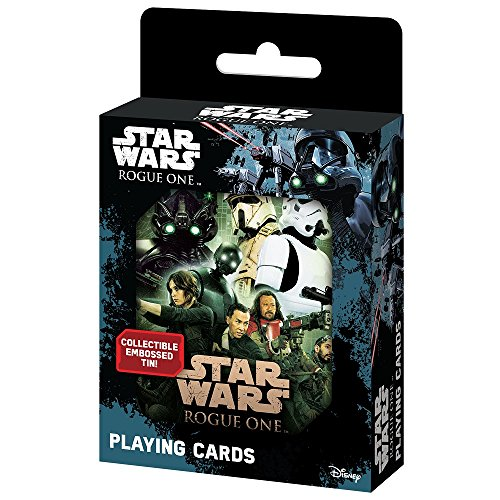 Cartamundi USA Star Wars Rogue One Single Deck In Tin Card Game - Villains Single