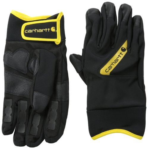 Carhartt Men's Sledge Hammer, Black/Yellow, Medium