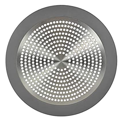 Shower Drain Cover Hair.Danco Shower Drain Hair Catcher Strainer Drain Protector And Drain Cover In Brushed Nickel 10895