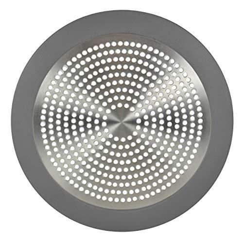 (Danco 10895 Shower Drain Strainer, 5-3/4 inch, Brushed Nickel)