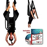 Inversion Sling - Yoga Swing (Black)