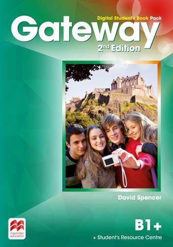 Gateway 2nd edition B1+ Digital Student's Book Pack por David Spencer