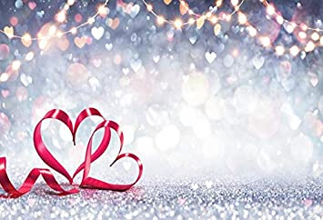 Glitter Star Fantasy Polka Dot Light Bokeh Wedding Birthday Love Party Baby Child Photo Background Photography Backdrop