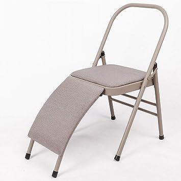 Amazon.com : DLT Iyengar Foldable Yoga Chair W/Width 31mm ...